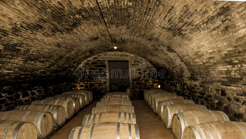 Cave en Toscane Italie images stock