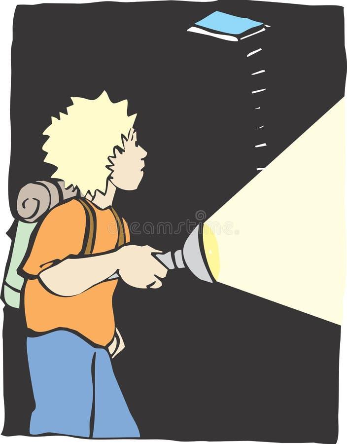 Download Cave Explore stock vector. Illustration of explore, shine - 8999530