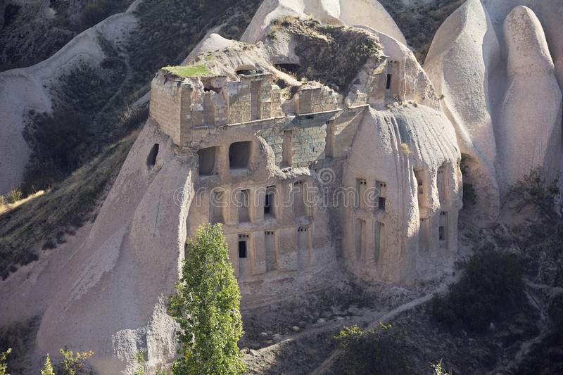 Cave houses in Pigeon Valley. GVP942 stock photo