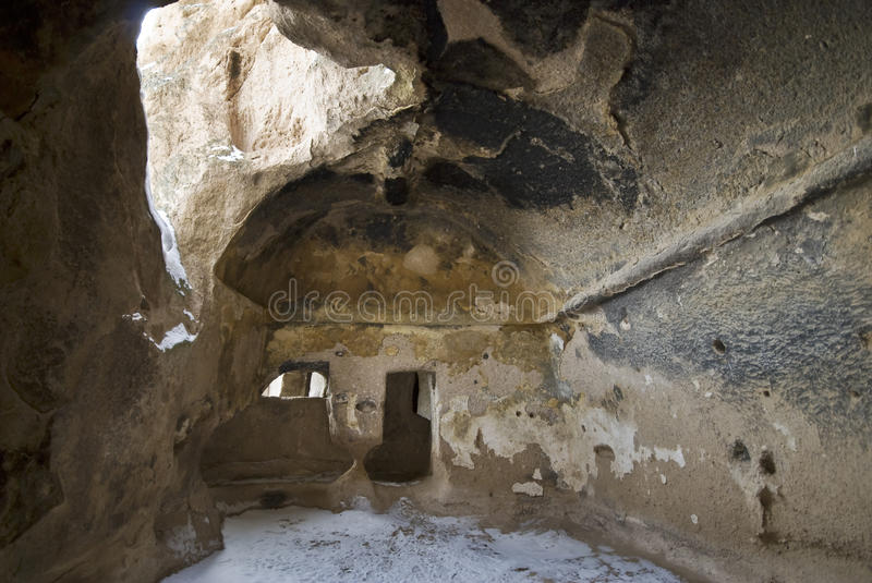 Cave Monastery Selime in Turkey. royalty free stock photos