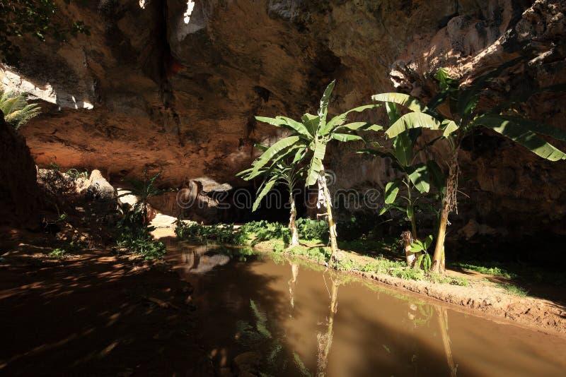Cave at Queixo Dantas in Brazil. A Cave at Queixo Dantas in Brazil stock images