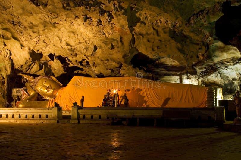 Cave Sanctuary stock photo