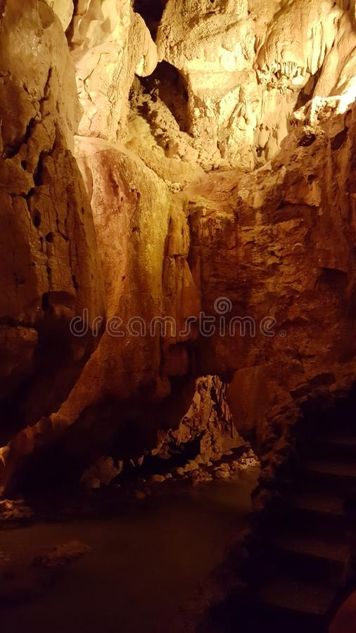 Cave stock image