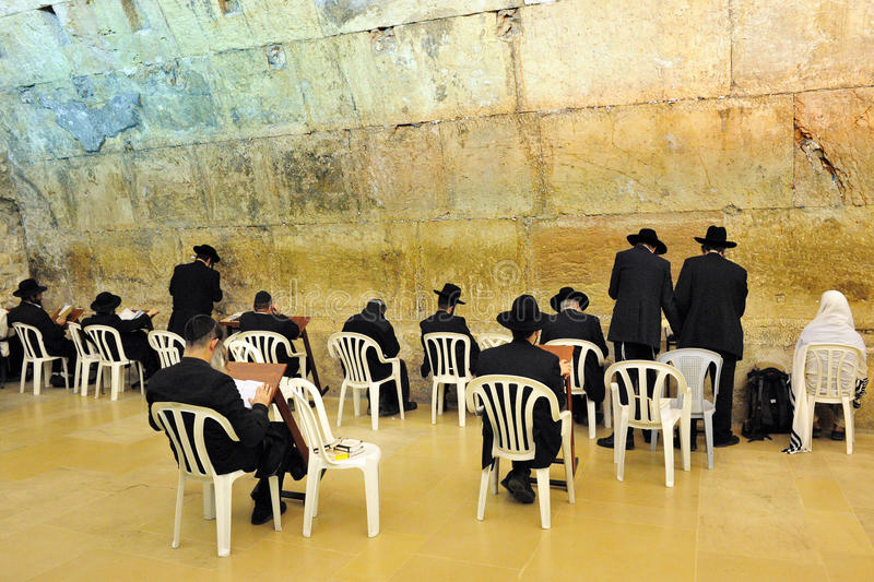 Download The Cave Synagogue In Jerusalem Western Wall Editorial Photography - Image of people, israel: 26007007