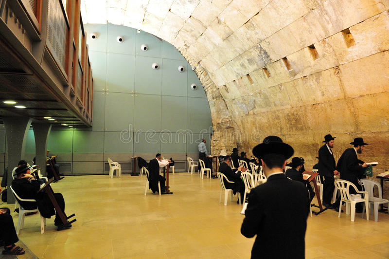 Download The Cave Synagogue In Jerusalem Western Wall Editorial Stock Image - Image of city, jewish: 26007069