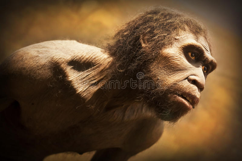 Caveman royalty free stock image