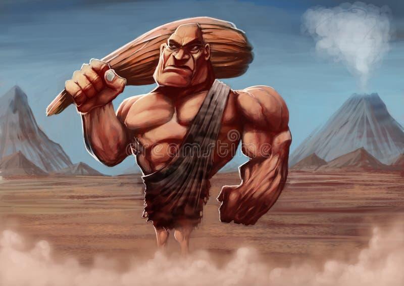 Download Caveman stock illustration. Image of caveman, drawing - 25635698