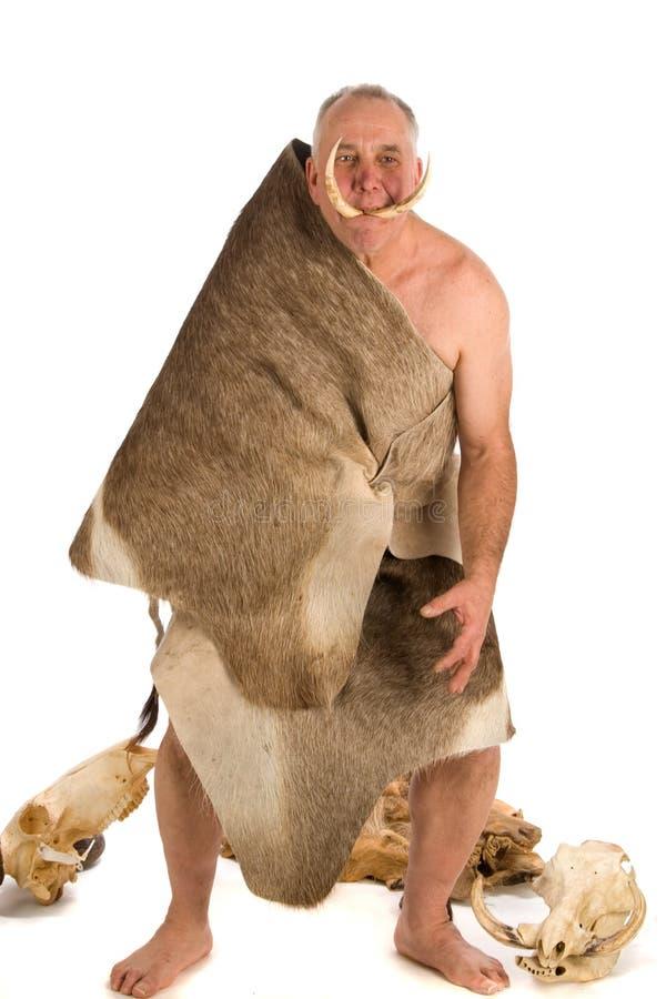 Download Caveman stock image. Image of vertical, extinct, dead - 4480619