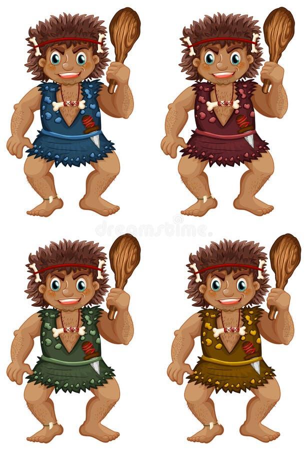 caveman illustration libre de droits