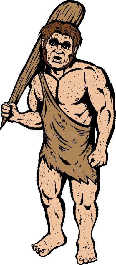 caveman ilustracji