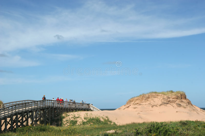 Cavendish National Park, Prince Edward Island stock photo