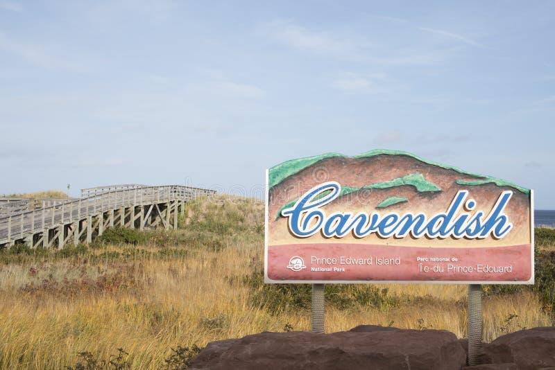 Cavendish-Strand-Nationalpark, Prinz Edward Island, Kanada lizenzfreie stockfotos