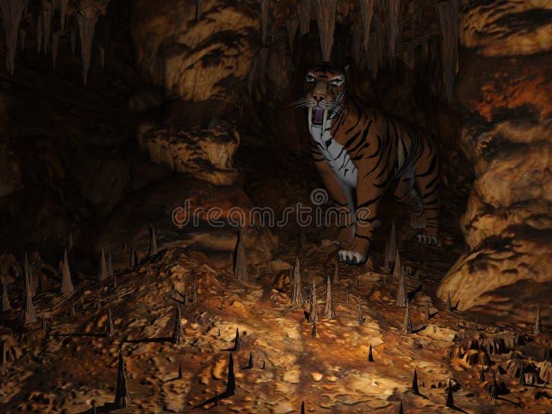 cavern ilustracja wektor