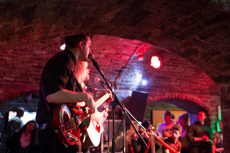 Cavern Club Liverpool stock images
