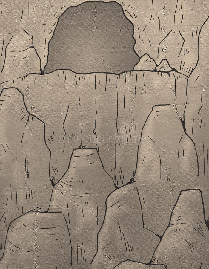 Download Cavern Illustration Stock Illustration - Image: 83723315