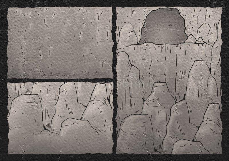 Cavern illustration. Creative design of cavern illustration vector illustration