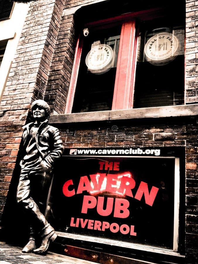 Cavern Pub royalty free stock photo