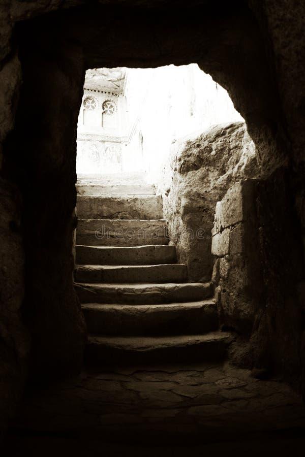 CAVERNA 1 DE CAPADOCIA fotos de stock royalty free