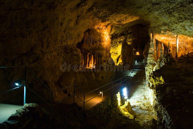 Caverna foto de stock royalty free