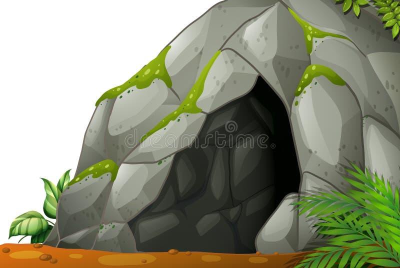 caverna ilustração do vetor