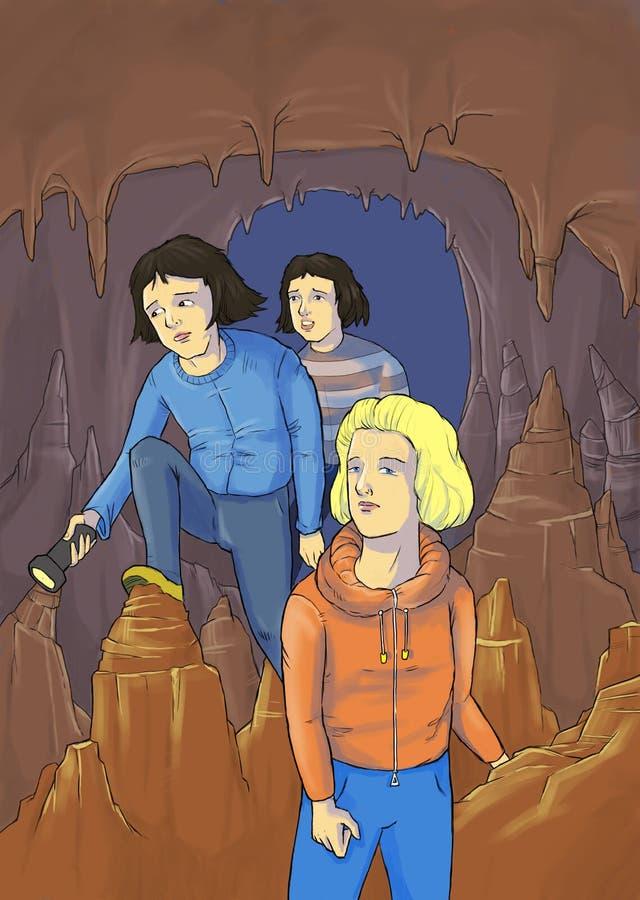 Caverna 2 imagem de stock