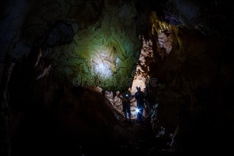 Caverna crimeana imagem de stock royalty free