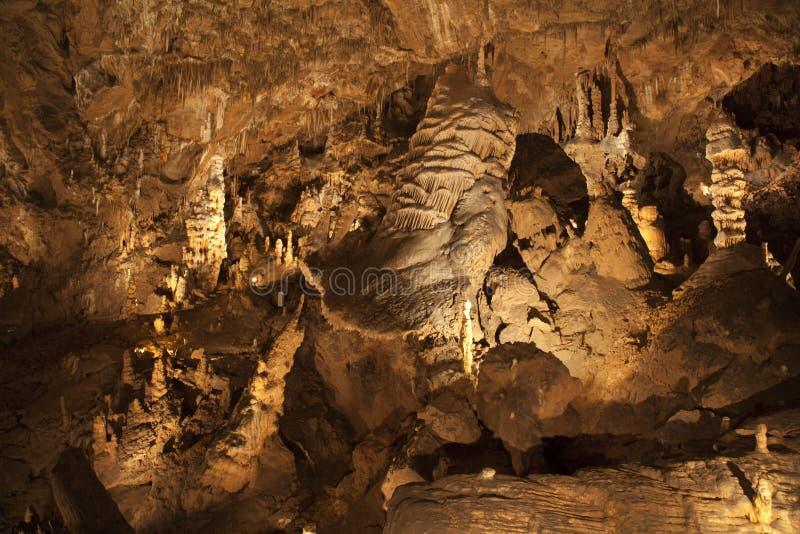 Caverna de Baradla - - Hungria - os DOM fotos de stock royalty free