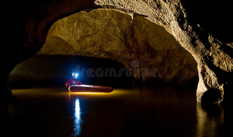 Caverna de Buhui imagens de stock royalty free