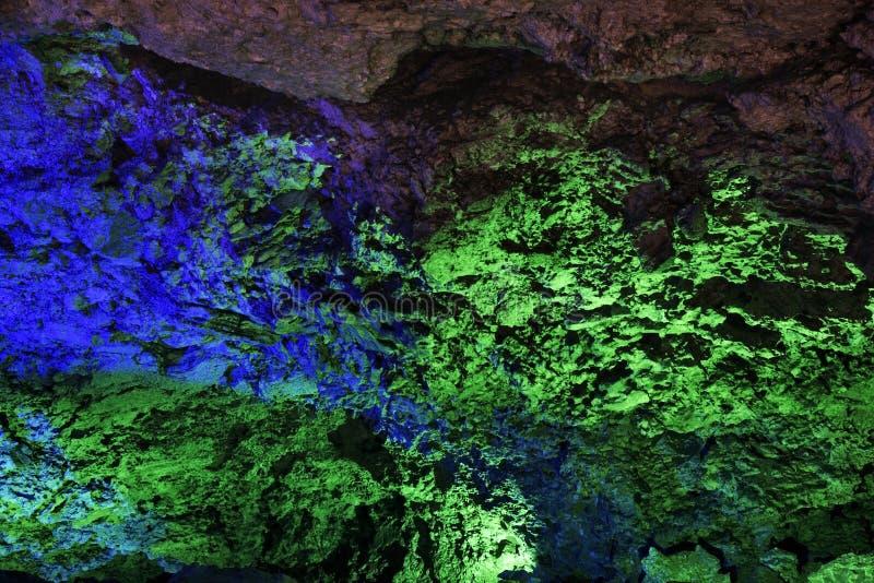 Caverna de gelo de Kungur Perm Krai Rússia fotografia de stock royalty free