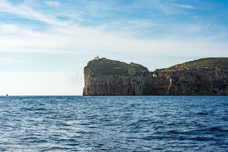 Caverna de Grotta di Nettuno em Sardinia, Itália fotos de stock royalty free