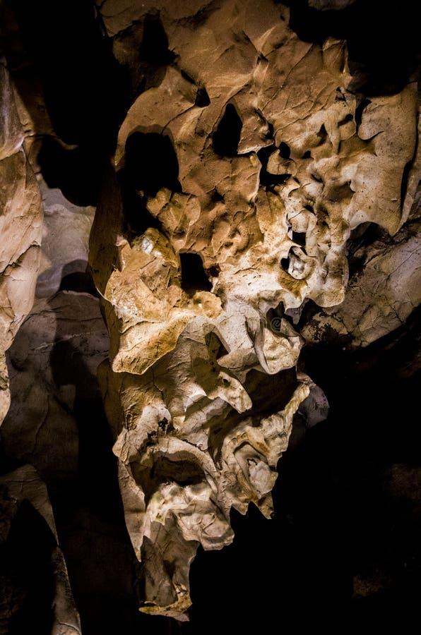 Caverna de Jasovska fotografia de stock