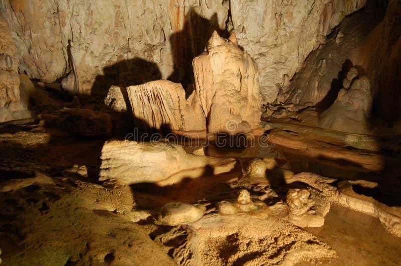 Caverna de Postojna fotos de stock