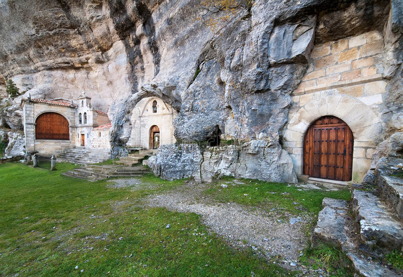 Caverna de San Bernabe foto de stock