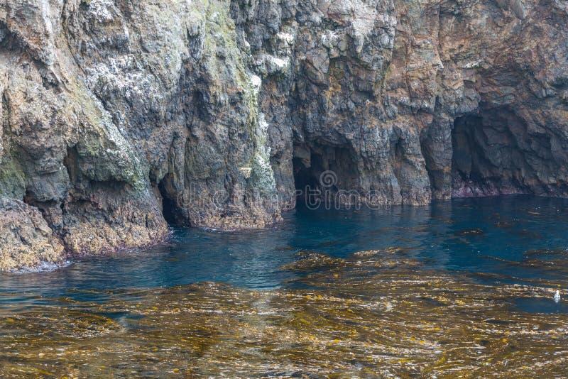 Caverna del mare immagine stock