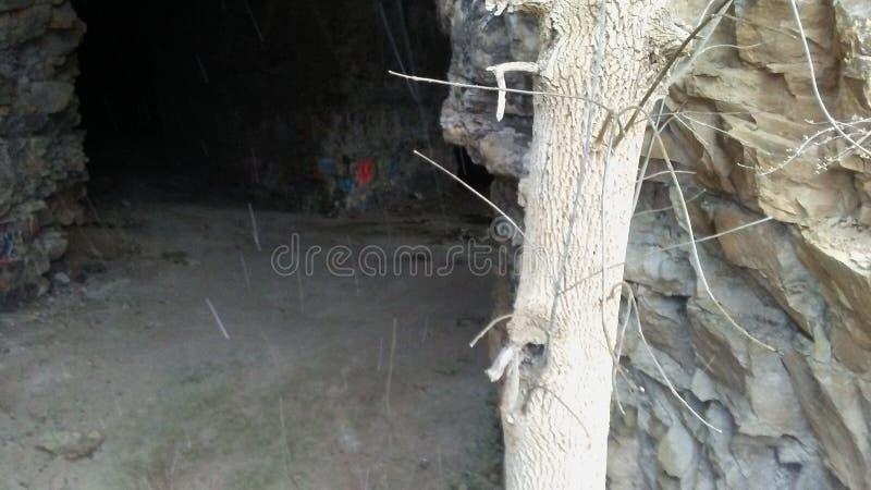 Caverna dell'Indiana fotografia stock libera da diritti