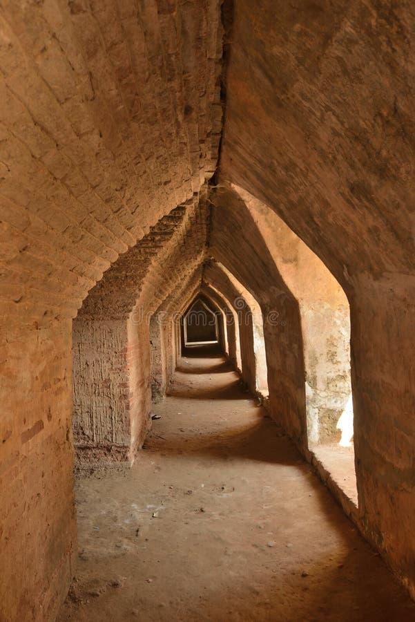 Caverna della pagoda del Myanmar Mandalay Yadana Hsemee fotografia stock