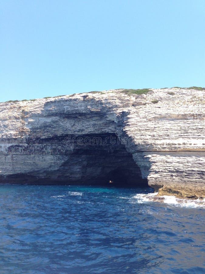Caverna della pietra fotografie stock libere da diritti