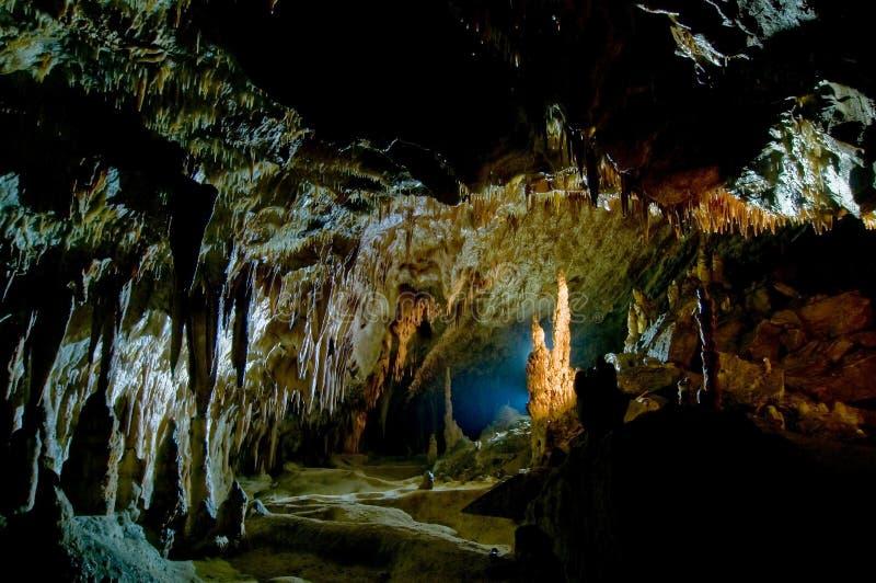 Caverna di Comarnic fotografie stock libere da diritti