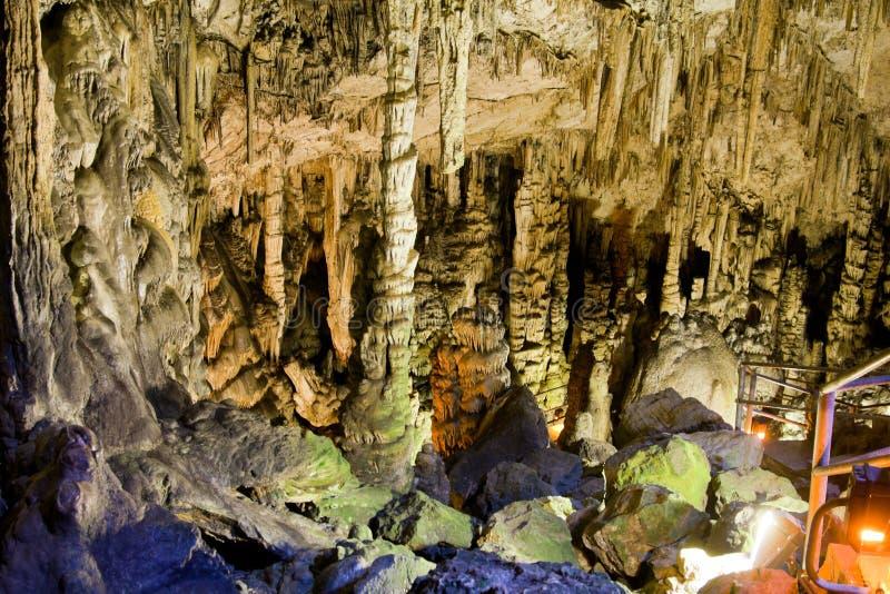 Caverna di Dikteo Andro immagini stock