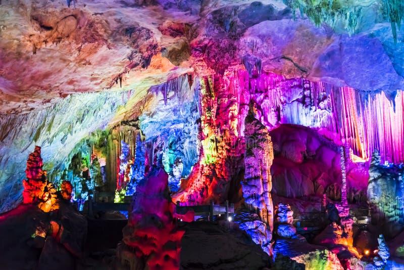 Caverna di Dripstone fotografie stock libere da diritti