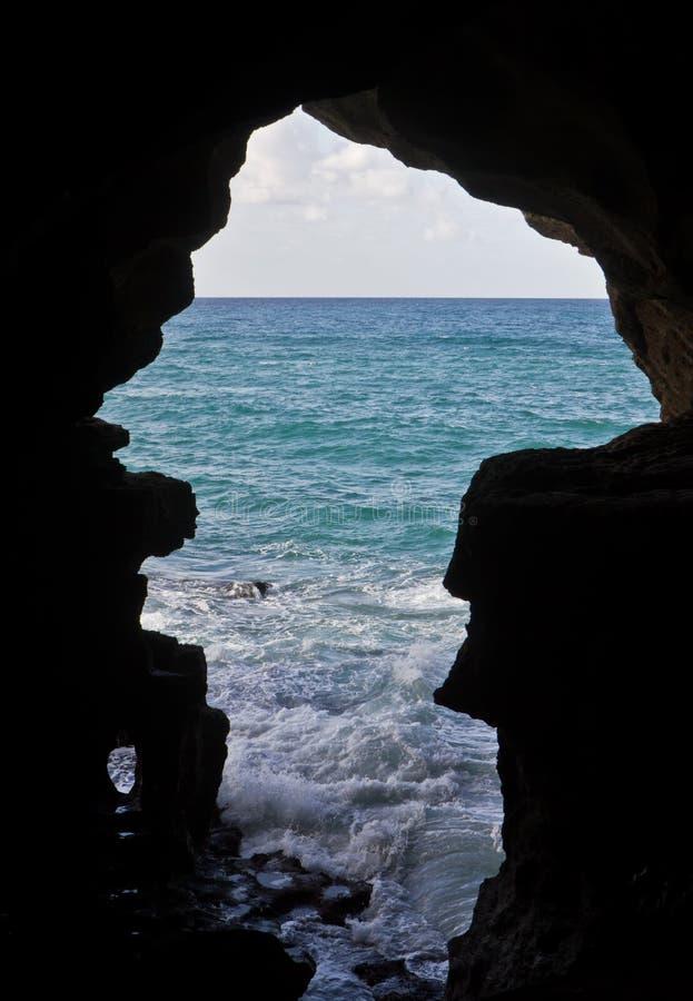 Caverna di Ercole fotografia stock libera da diritti