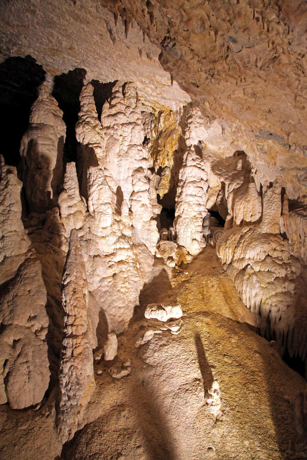 Caverna di libertà, Slovacchia di Demanovska fotografie stock libere da diritti