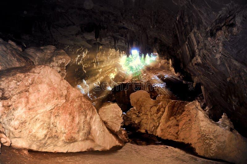Caverna di Maeusu fotografie stock