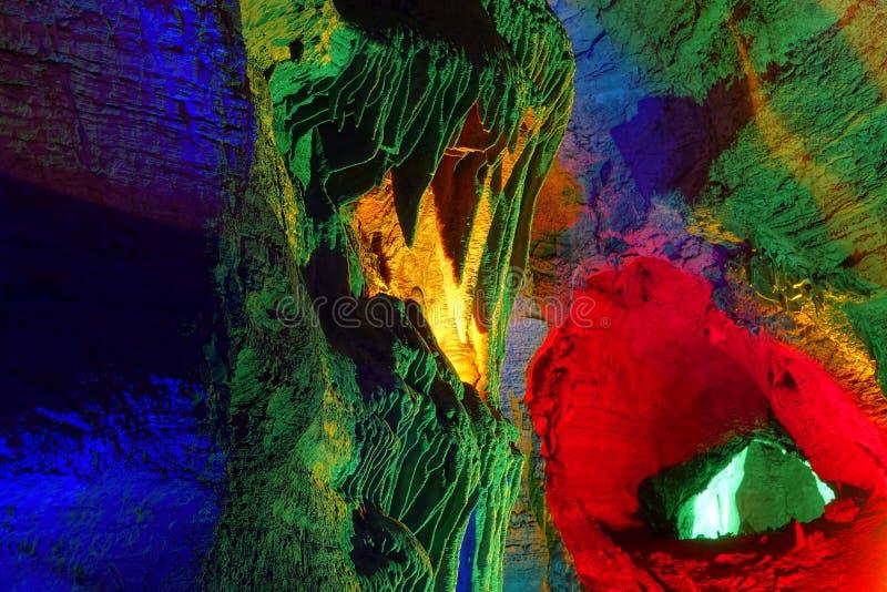Caverna di morfologia carsica fotografie stock libere da diritti
