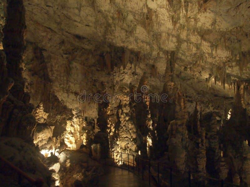 Download Caverna di Postumia fotografia stock. Immagine di pietra - 55364634