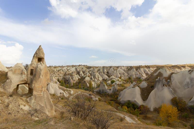 Caverna di Urgup Cappadocia Turchia dei luoghi pubblici immagini stock
