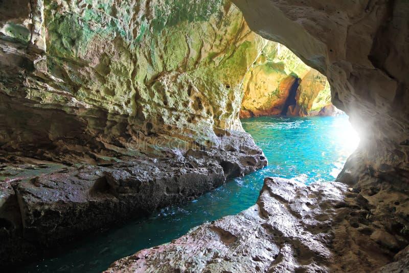 Caverna do mar imagem de stock royalty free