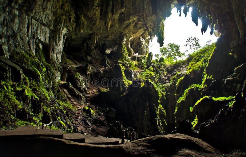 Caverna leggiadramente fotografia stock