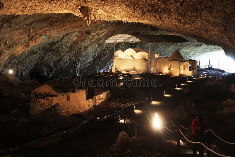 Caverna lombardic de Olevano imagem de stock royalty free