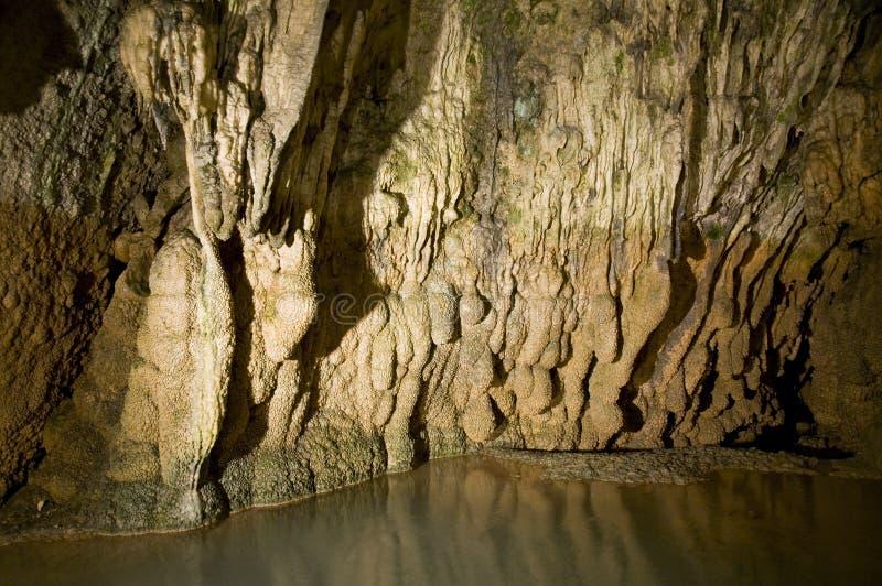 Caverna profunda foto de stock royalty free